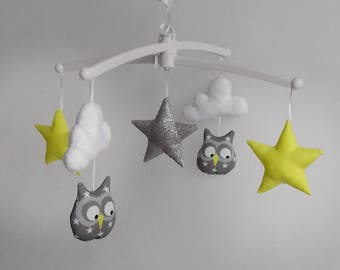 Yellow gray owls Mobile PROMO