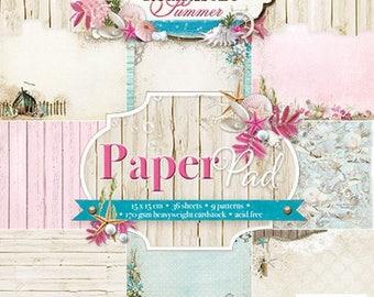 two pockets 15.2 36 papers x 15.2 cm LIGHT ROMANTIC SUMMER STUDIO 35