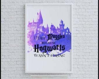 Hogwarts Teacher Gift