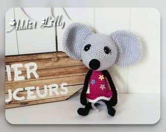 Mylee - Mouse - crochet - Amigurumi plush