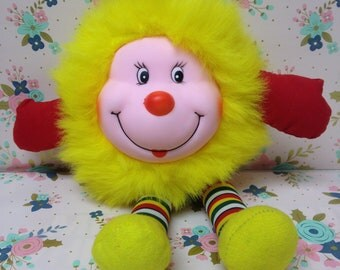 Vintage Rainbow Brite Yellow Sprite ~Fakie~