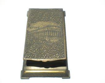 Brass Notepad Holder