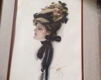 Elegant lady by Harrison Foster