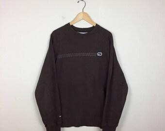 90s NIKE Sweater Size Large, Brown Nike Sweater