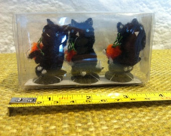 Vintage 3 Cats kitten Packed very beautiful and old