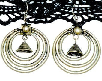 Boucles d'oreilles Miao vintage/Tribal earrings/Vintage/tribal/Miao