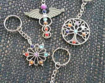 Chakra keyring - assorted designs