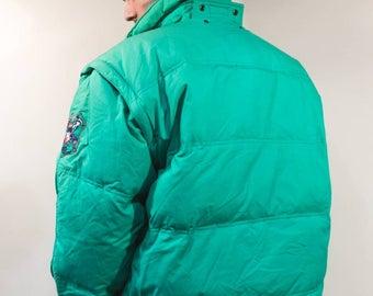 Vintage puffer FILA coat jacket Cod.12-16