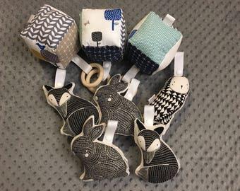 Block | Soft Block | Stroller Toy