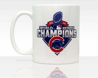 Chicago Cubs World Series Champions 2016  11oz Ceramic Coffee Mug