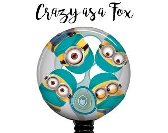 Minions ready to Operate Retractable Badge Holder Reel,  Anesthesiologist,  Doctor, Surgeon, OR Nurse, Surgical Minion Badge Reel
