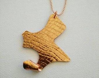 Copper Handmade Necklace, Copper Chain
