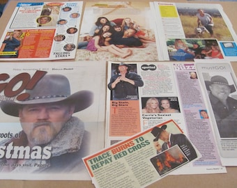 TRACE ADKINS  CLIPPINGS  #0524