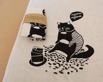 teatowel - cat