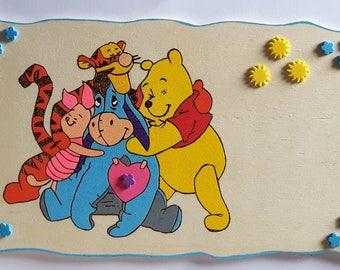 Winny Puh Türschild für das Kinderzimmer