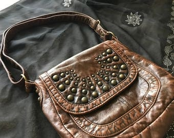 Re-Trippy Handbags- Brown and Bronze
