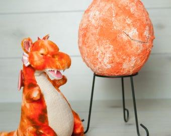 Large Dragon Egg - Orange