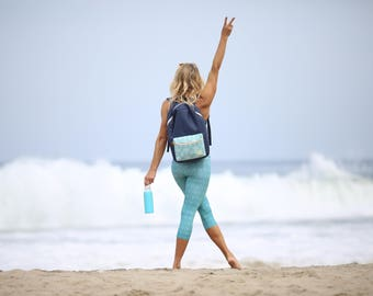 The Buy One Give One City Blue Soular Backpack