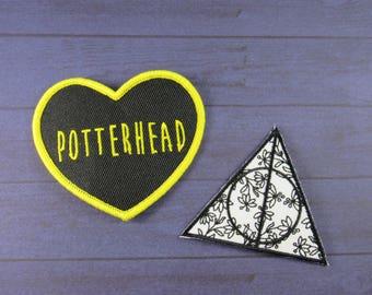 Potter patch, potterhead patch, deathly patch, Potter patch