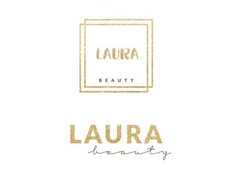 Gold Pre-made Logo Design, Luxury Design, Fashion Logo, Branding, Photography, Beauty Logo, Business Logo, Fashion Blogger Logo  JRAZ_016