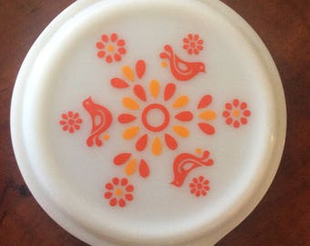 Pyrex friendship pattern Lid only