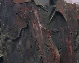 Jason Voorhees Friday 13Th Jacket - Post-Apocalyptic Jacket - Zombie Apocalypse Jacket