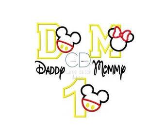 ON SALE Mouse Applique Design, Mouse Embroidery Design, Mickey Mouse Applique Design, Mouse Head Applique Design