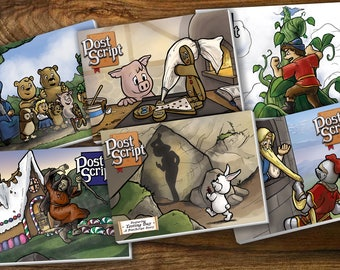 The Complete PostScript Comic Strip Book Collection - The Messy Aftermath of Fairytales