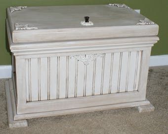 Handcrafted Victorian Toy Chest