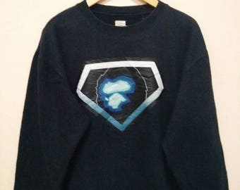 A Bathing Ape sweatshirt sweater jumper pullover big logo