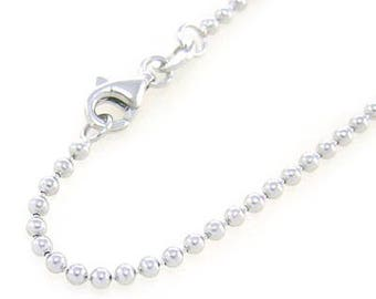COMPLETE silver 40cm - 1.5 mm ball chain