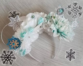 Elsa Ears | Frozen Ears | Elsa Minnie Ears | Frozen Mickey Ears | Disney Ears | Frozen Wire Ears | Wire Mickey Ears | Wire Mouse Ears