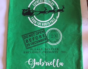 Personalized Christmas Sack