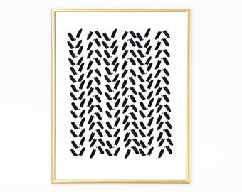 Black and White Print, Scandinavian Style Decor, Minimalist Wall Printables, Instant Download Art, Printable Scandinavian Art, Modern Art