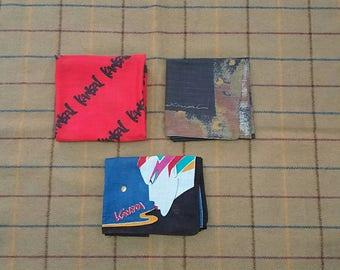 Combo vintage kansai handkerchiefs