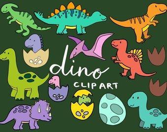 DINOSAUR CLIPART, clip art, cute, doodles, vector clipart, clipart, doodle clipart, hand-drawn clipart, dino clipart, dino, svg, png