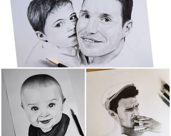 Custom realistic portrait