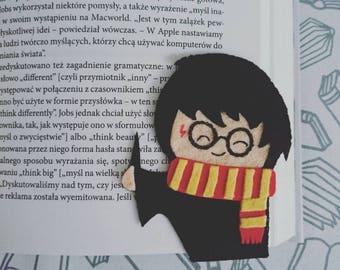 Corner Bookmark - Harry Potter