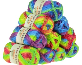 10 x 50 g knitting wool SELMA #05