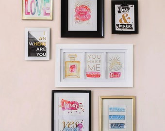 Cosmo Cricket Just Add Watercolor® Gallery Art Deck