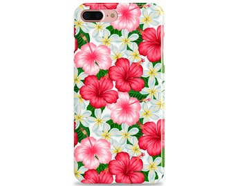 HIBISCUS iPhone Case, Tropical iPhone Case, iPhone X, iPhone 8 Plus, iPhone 7 Plus iPhone 6s Plus iPhone 6 Plus iPhone SE iPhone 5s iPhone 5