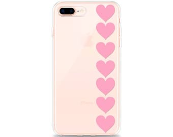 CLEAR Phone Case, Cute iPhone 8 Plus Case, iPhone 7 Plus Case, iPhone X Case, iPhone 8 Case, iPhone 6s Case, iPhone 6 Case, iPhone SE Case