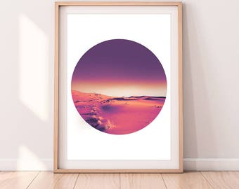Art Prints, Graphic Design Poster, Printable Art, Travel Poster, Nursery Decor, Wall Art, Home Decor, Large, Morocco Desert, Home Interior