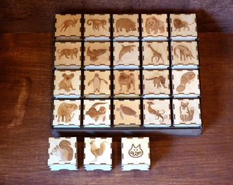 Animal Boxes! Sets of 2