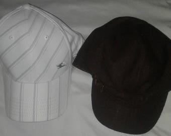 2 ladies vintage ball caps~ Ships FAST and FREE !!