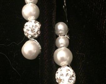 Bridal hair pins ,Pearl Hair Pins,bridesmaid hairpins