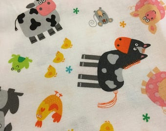 Barn Friends weighted blanket/ Kids weighted blanket/Autism/Aspergers/OCD/Anxiety/Toddlers weighted blanket/ADHD