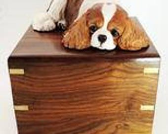Small Cavalier King Charles Spaniel Cremation Urn