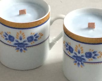 Small Espresso cup candles