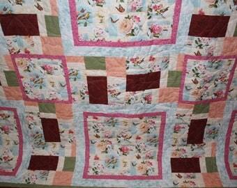 Majestic Garden Quilt - Full